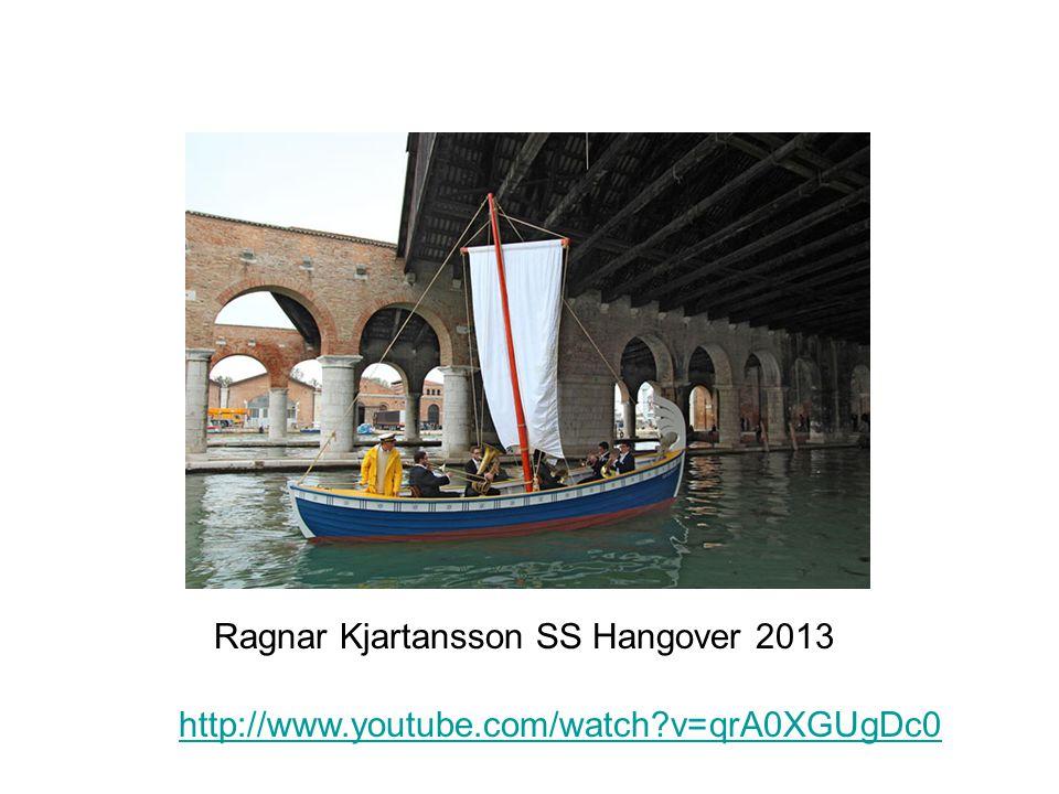 http://www.youtube.com/watch?v=qrA0XGUgDc0 Ragnar Kjartansson SS Hangover 2013
