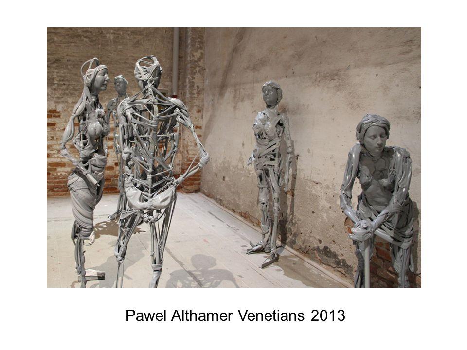 Pawel Althamer Venetians 2013