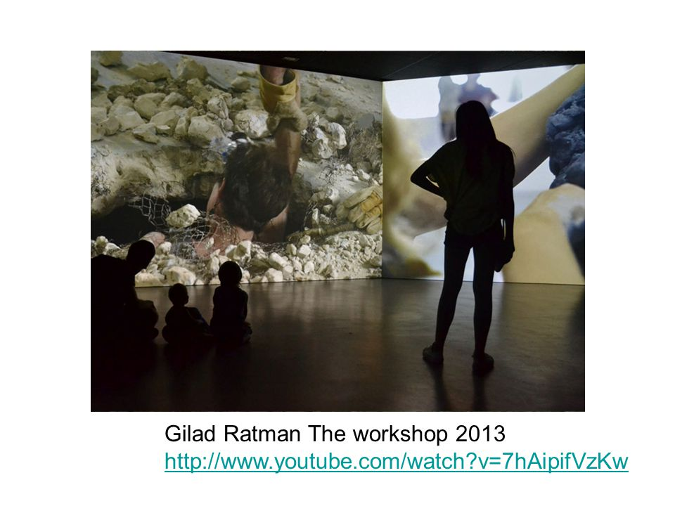 Gilad Ratman The workshop 2013 http://www.youtube.com/watch v=7hAipifVzKw