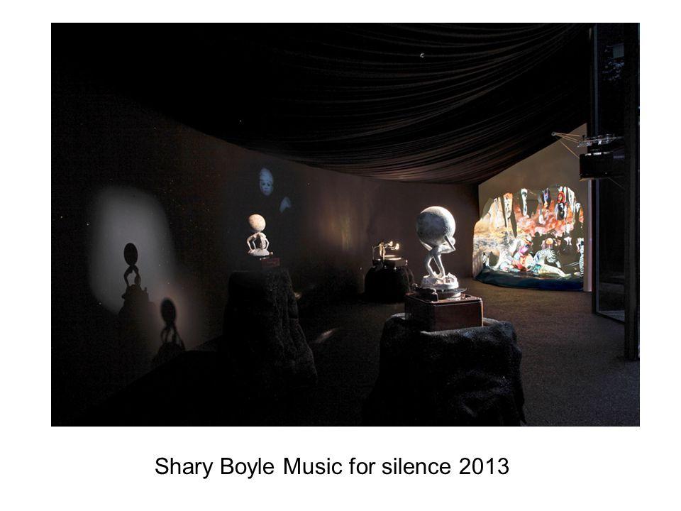 Shary Boyle Music for silence 2013