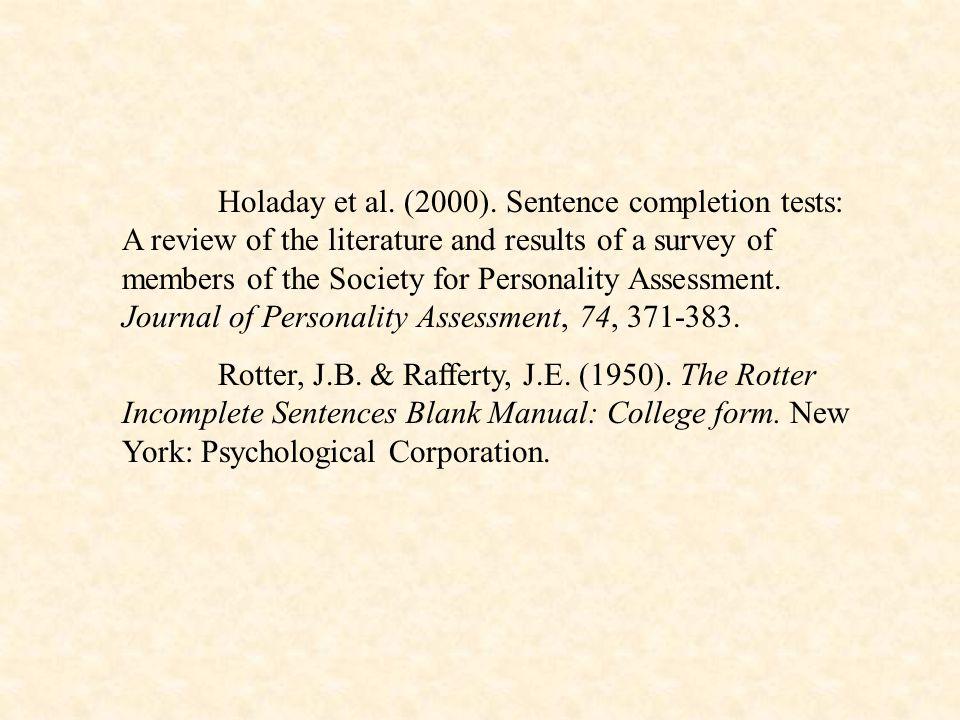 Holaday et al. (2000).