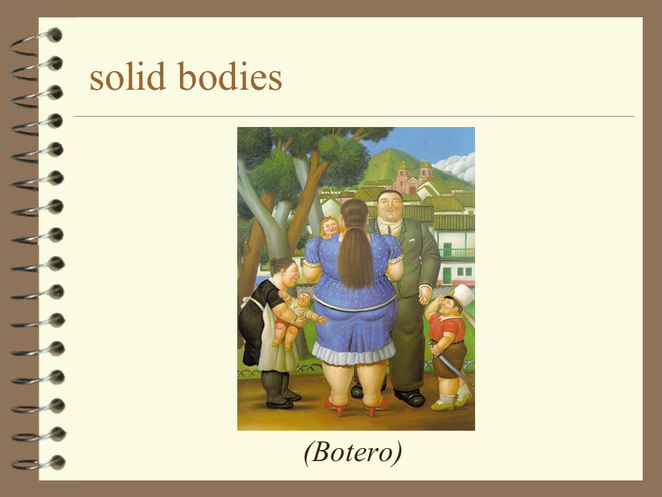 solid bodies (Botero)