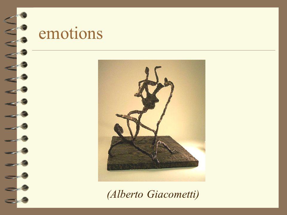 emotions (Alberto Giacometti)