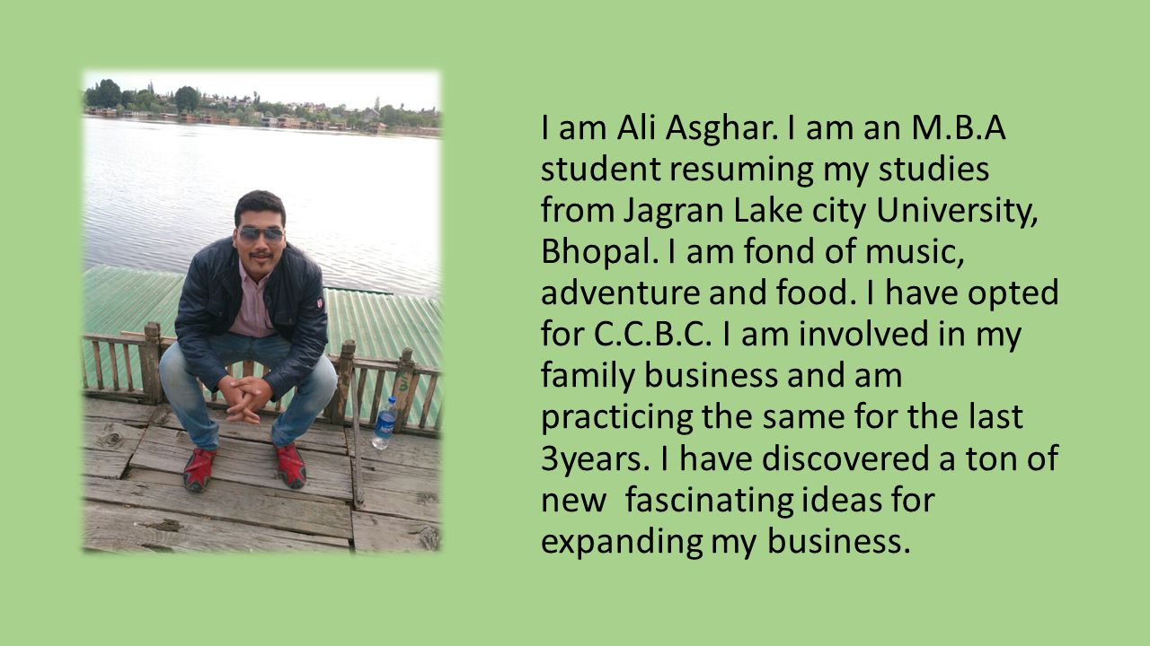 I am Ruchi Rashinkar, 21, from Bhopal, Madhya Pradesh(M.P.), India. I am pursuing Bachelor of Business Administration. Key Skills: Analytical Skill Ob