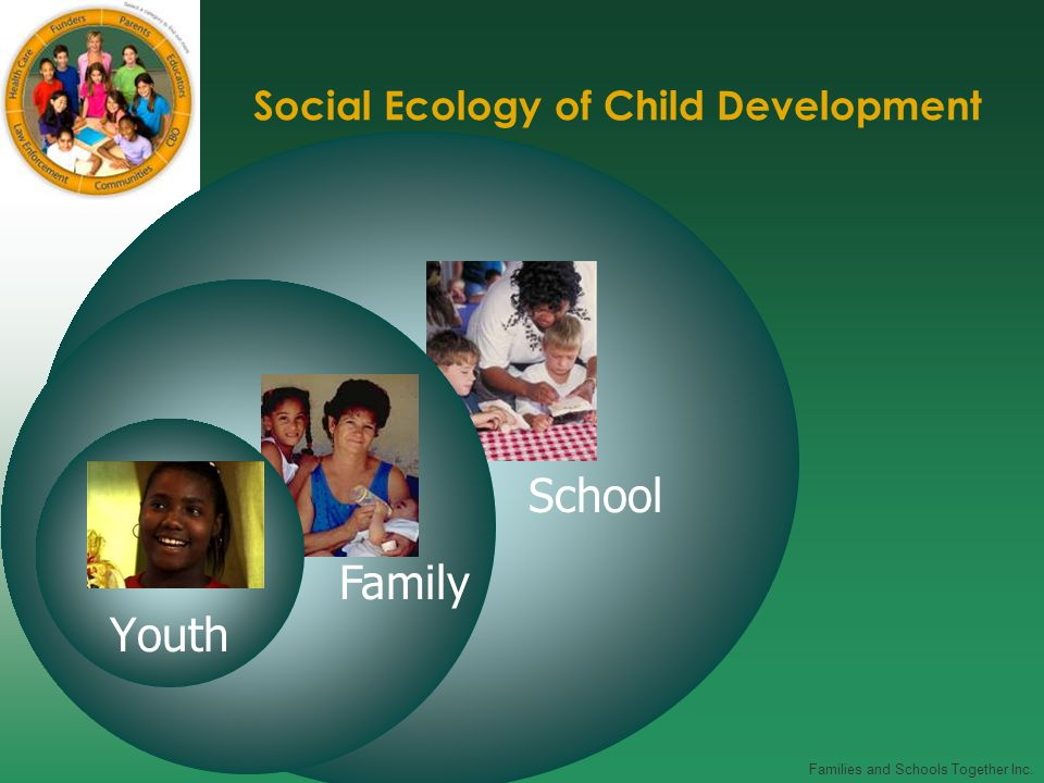 Families and Schools Together Inc. Social Ecology of Child Development Youth Family School