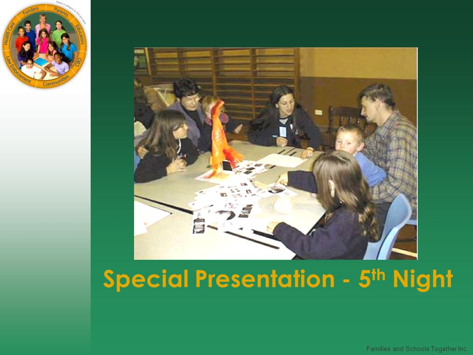 Special Presentation - 5 th Night
