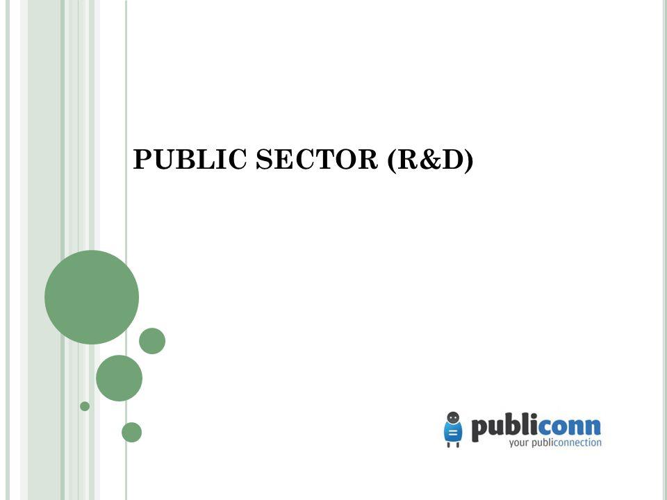 PUBLIC SECTOR (R&D)