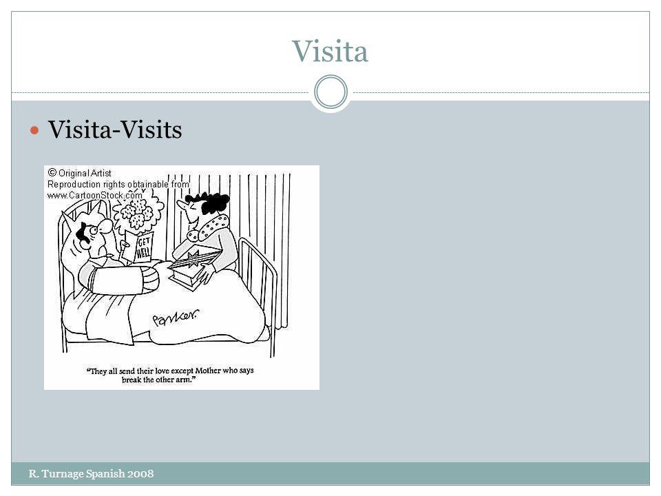 Visita Visita-Visits R. Turnage Spanish 2008