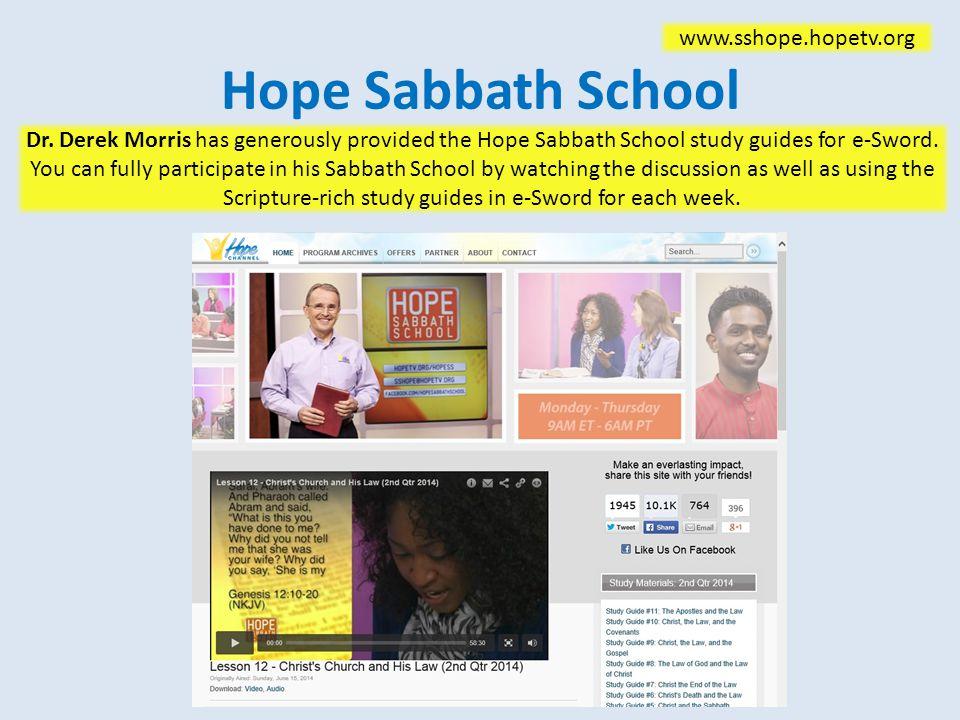 Hope Sabbath School Dr.