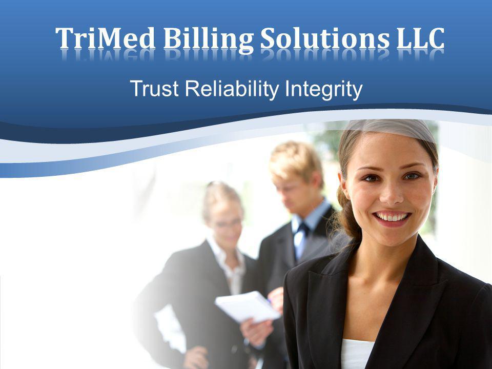 Trust Reliability Integrity