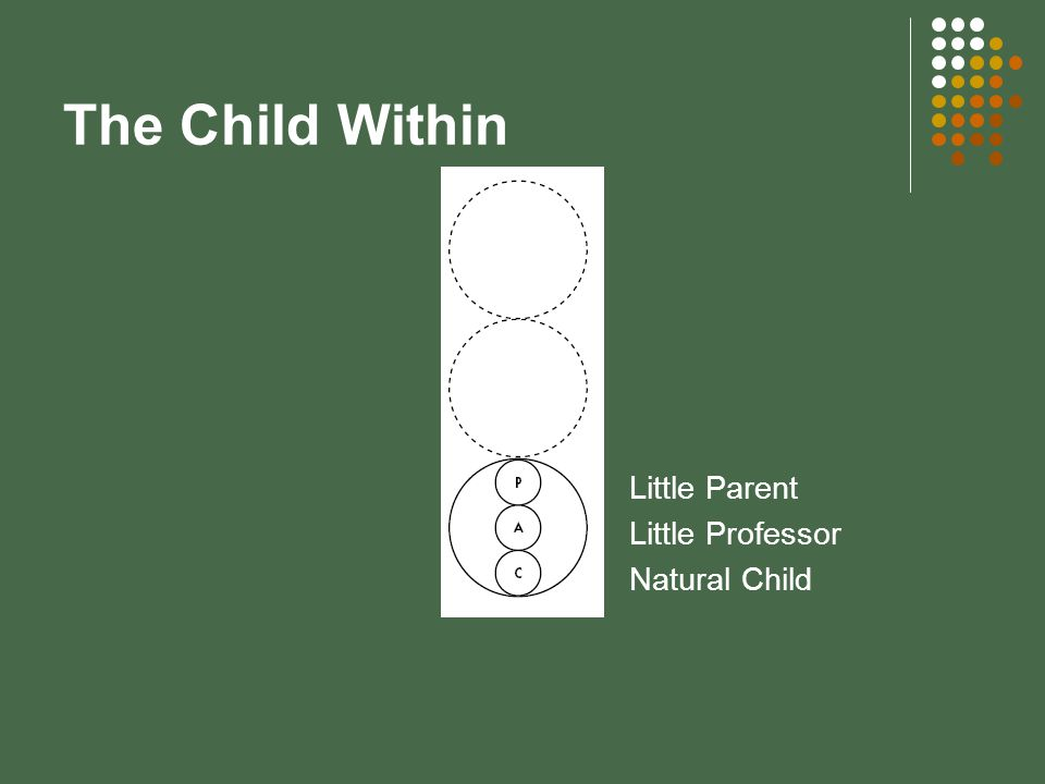 The Child Within Little Parent Little Professor Natural Child