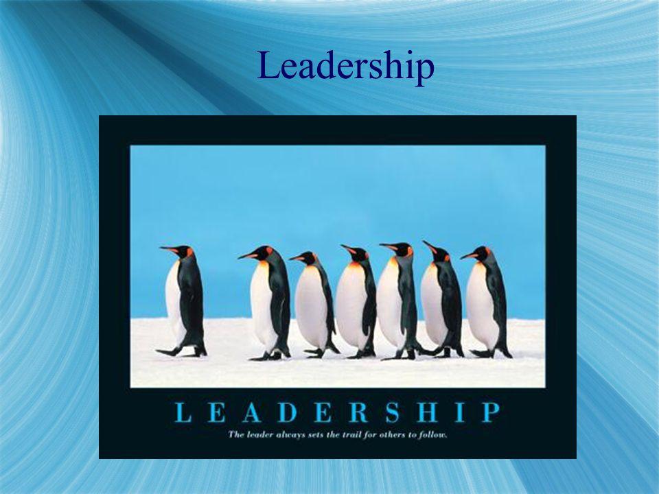 Real leaders look, act like leaders.