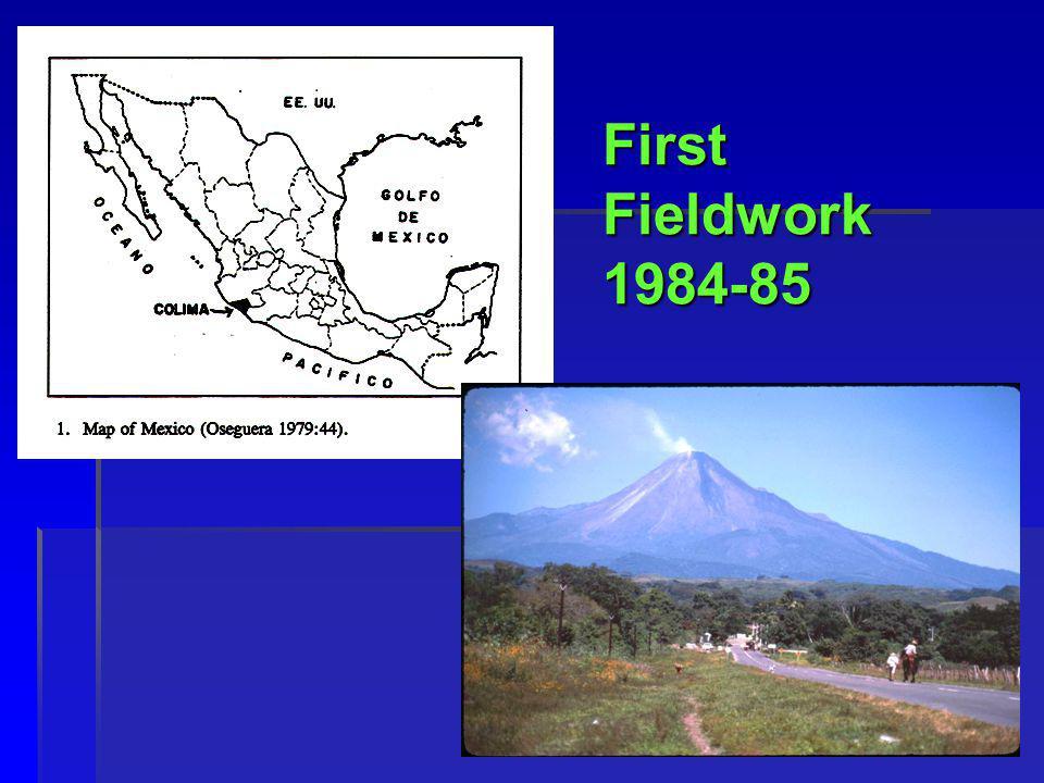 10 First Fieldwork 1984-85 i