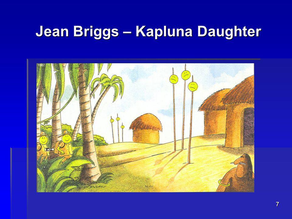 7 Jean Briggs – Kapluna Daughter