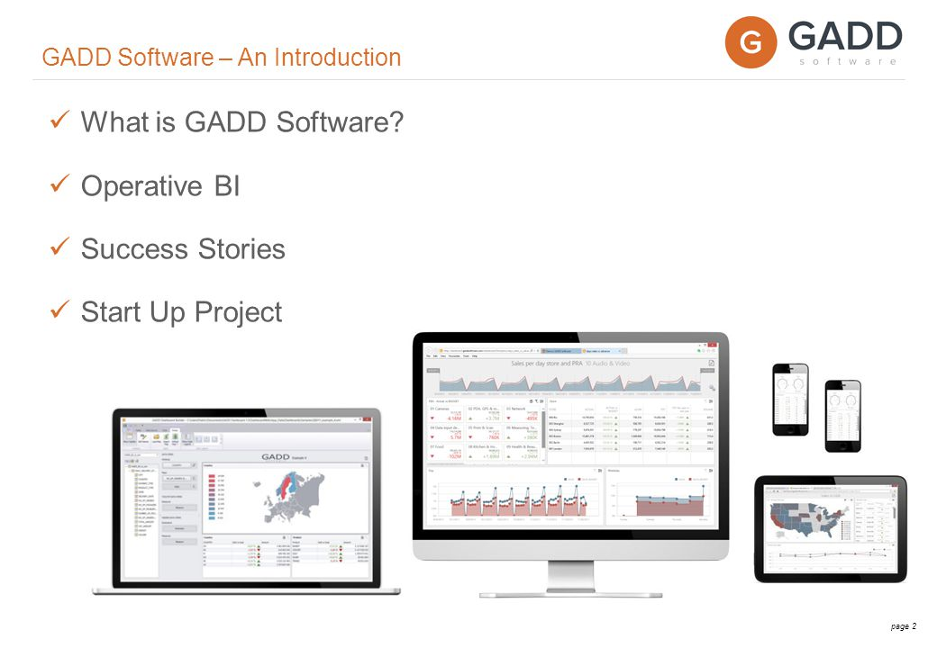 page 2 What is GADD Software.