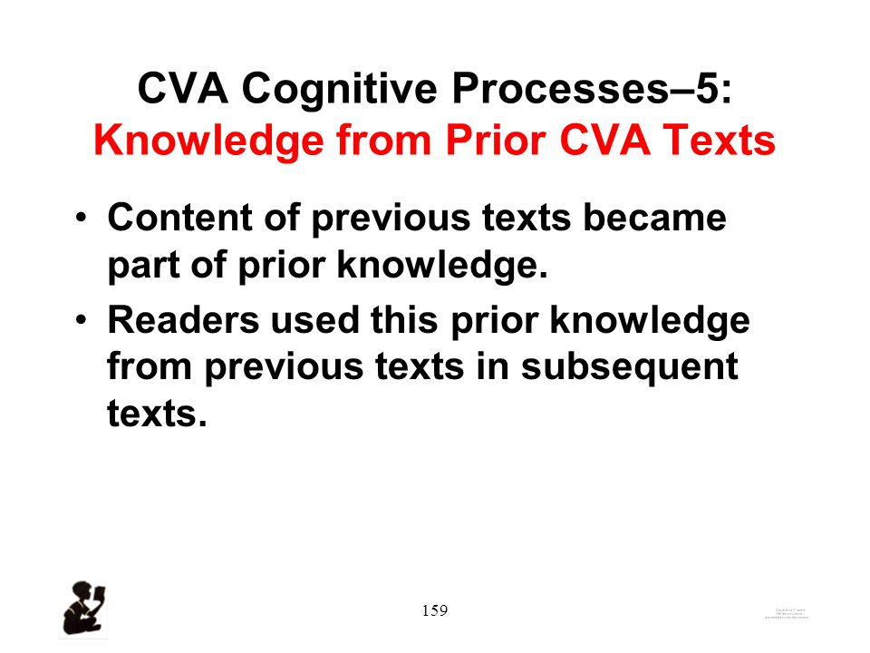158 CVA Cognitive Processes–4: Sternberg's Information Processing Separating relevant and irrelevant information.