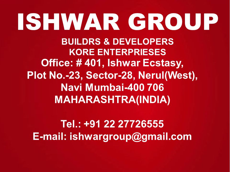 Project Features G+13 storied Tower Mesmerizing Elevation Configuration 2Bhk Flat Area: 1100 Sq.