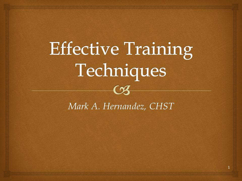 Mark A. Hernandez, CHST 1