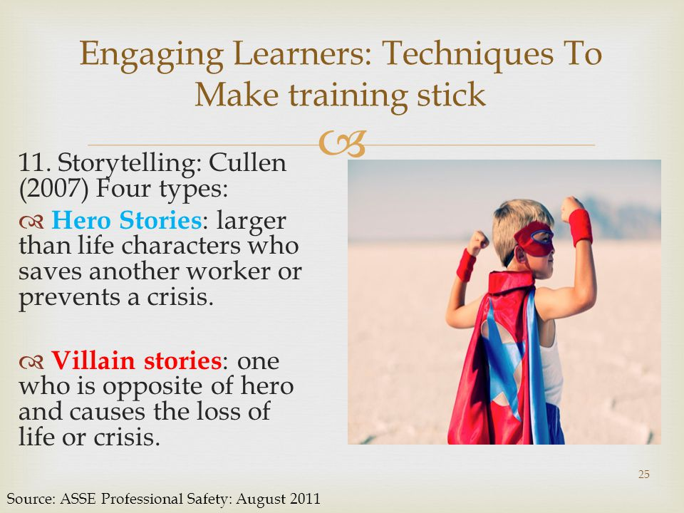  Engaging Learners: Techniques To Make training stick 11.
