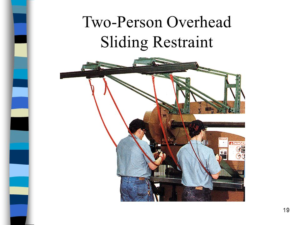 19 Two-Person Overhead Sliding Restraint