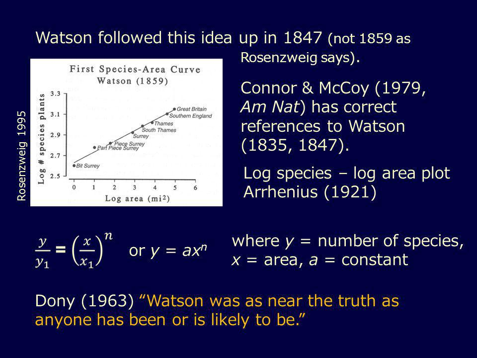 Watson followed this idea up in 1847 (not 1859 as Rosenzweig says).