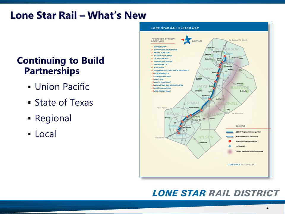 15 50 % participation of new property value increase/growth Federal ½ mile distance standard for most LSTAR station locations Exclude existing single family and duplex residential use properties Tax exempt parcels added when developed Pre-existing economic development agreements honored to expiration Safe Investment provisions included Local Funding: TIF Approach