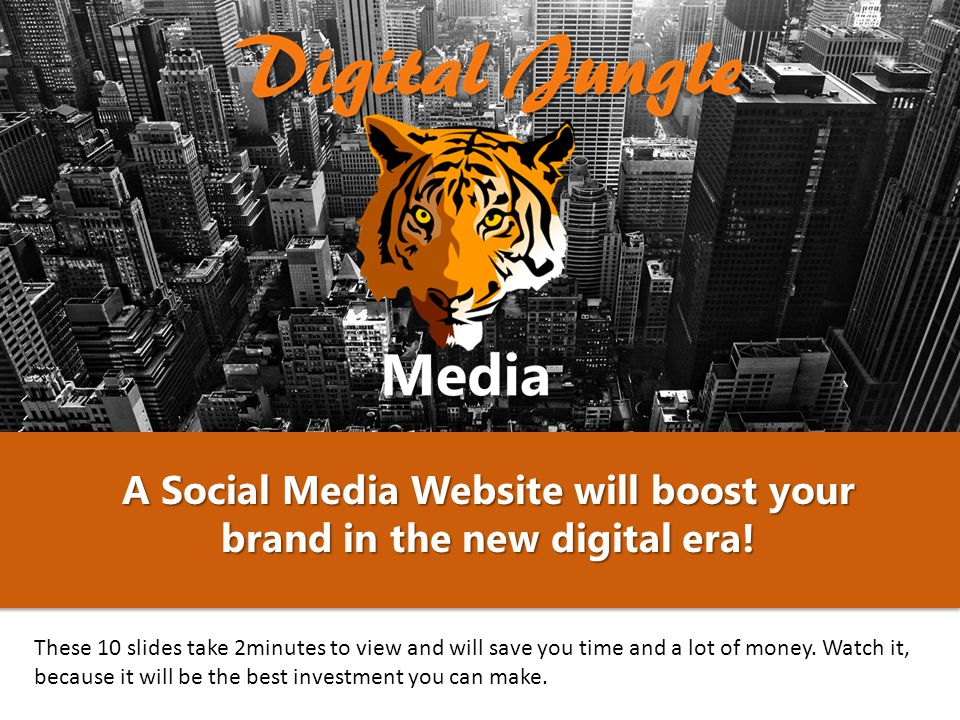 A Social Media Website will boost your brand in the new digital era.