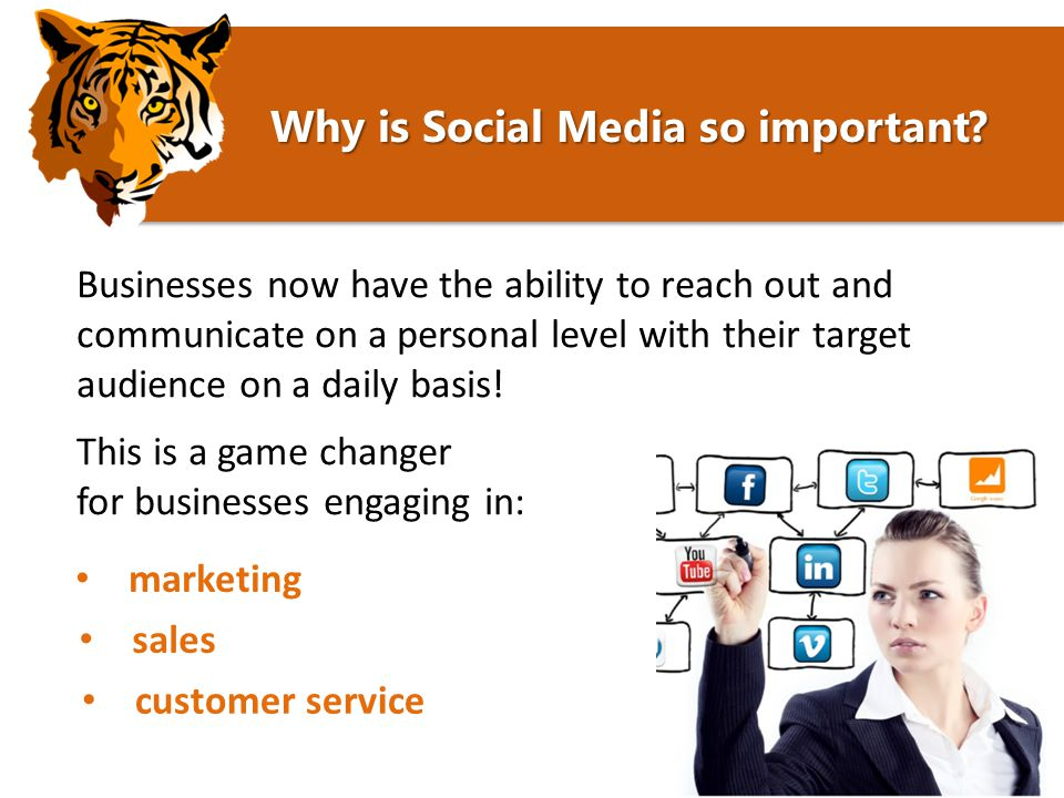 Digital Strategy Why is it important. Why is Social Media so important.