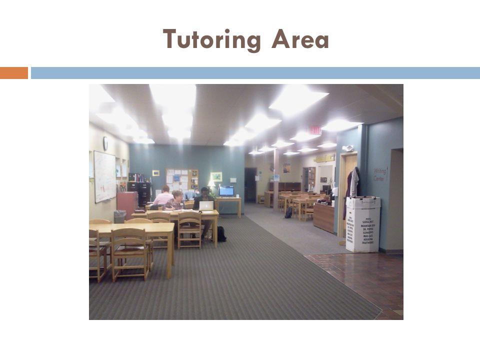 Tutoring Area