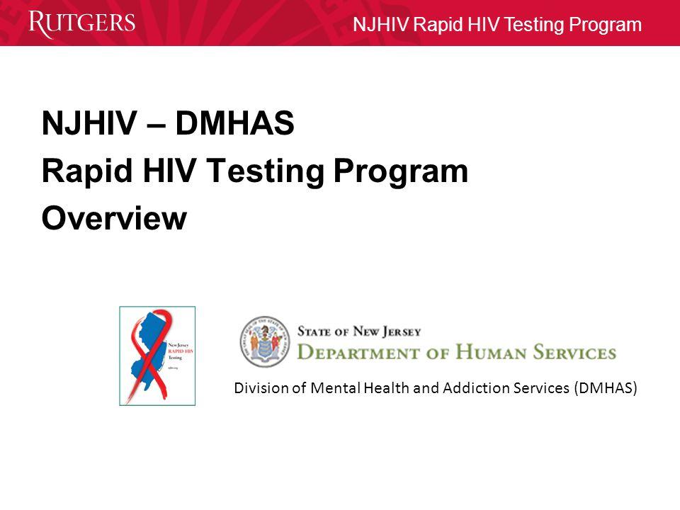 NJHIV Rapid HIV Testing Program