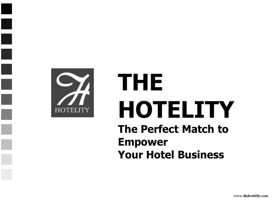 www.thehotelity.com Hotel Sales SWAT Team We can work the current account list for clients who have dropped by the wayside.
