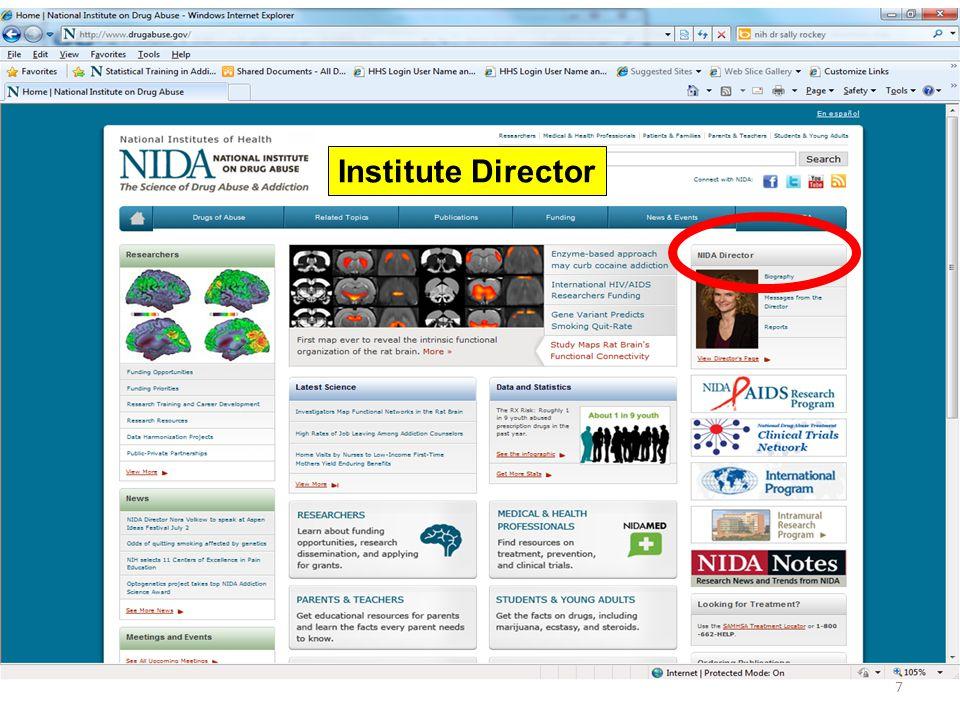 7 Institute Director