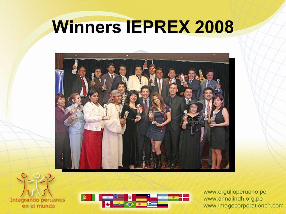 Winners IEPREX 2008