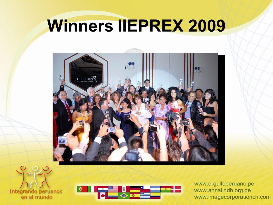 Winners IIEPREX 2009