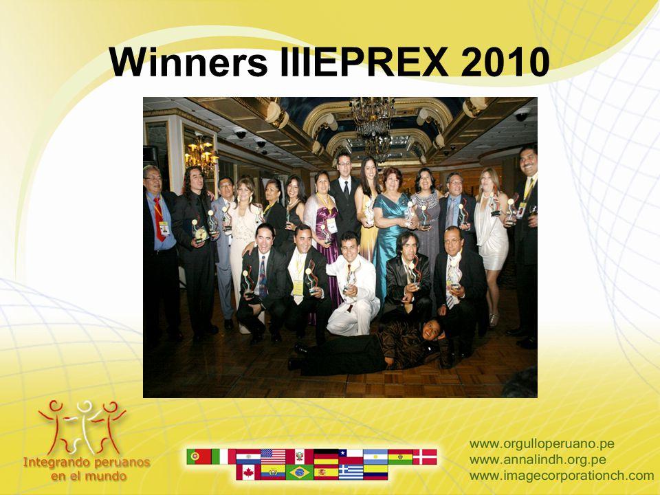 Winners IIIEPREX 2010