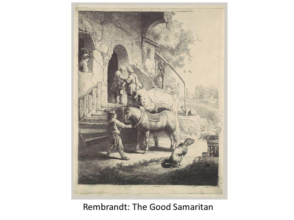 Rembrandt: The Good Samaritan