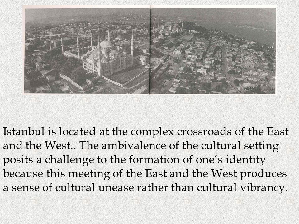 This is hüzün In this sense, Pamuk says, the Istanbullus carry the city in their hearts.