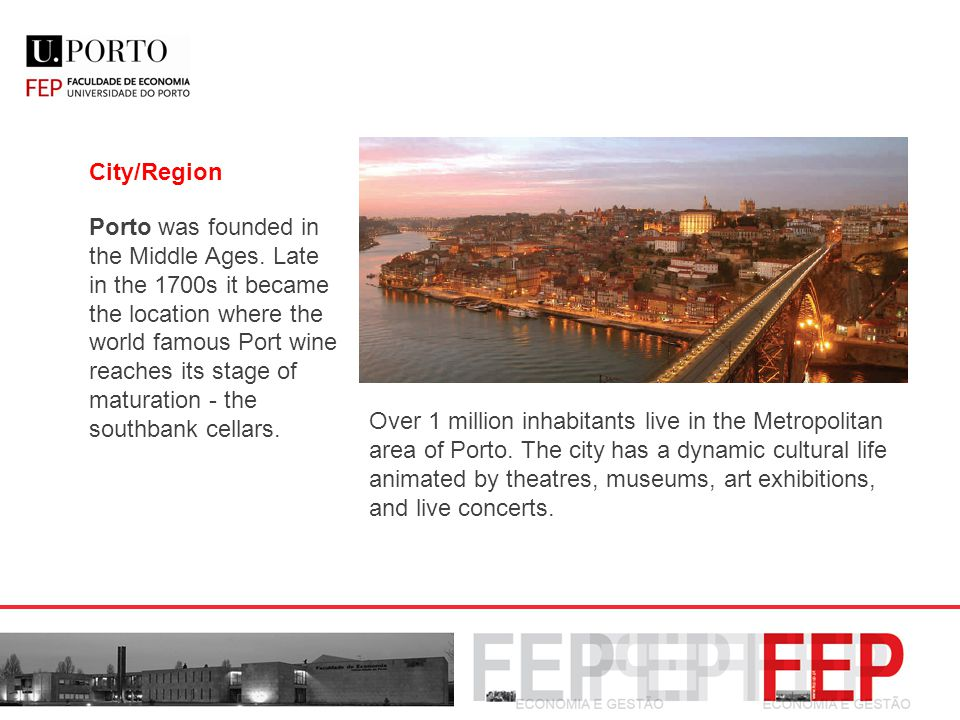 City/Region Porto was founded in the Middle Ages.