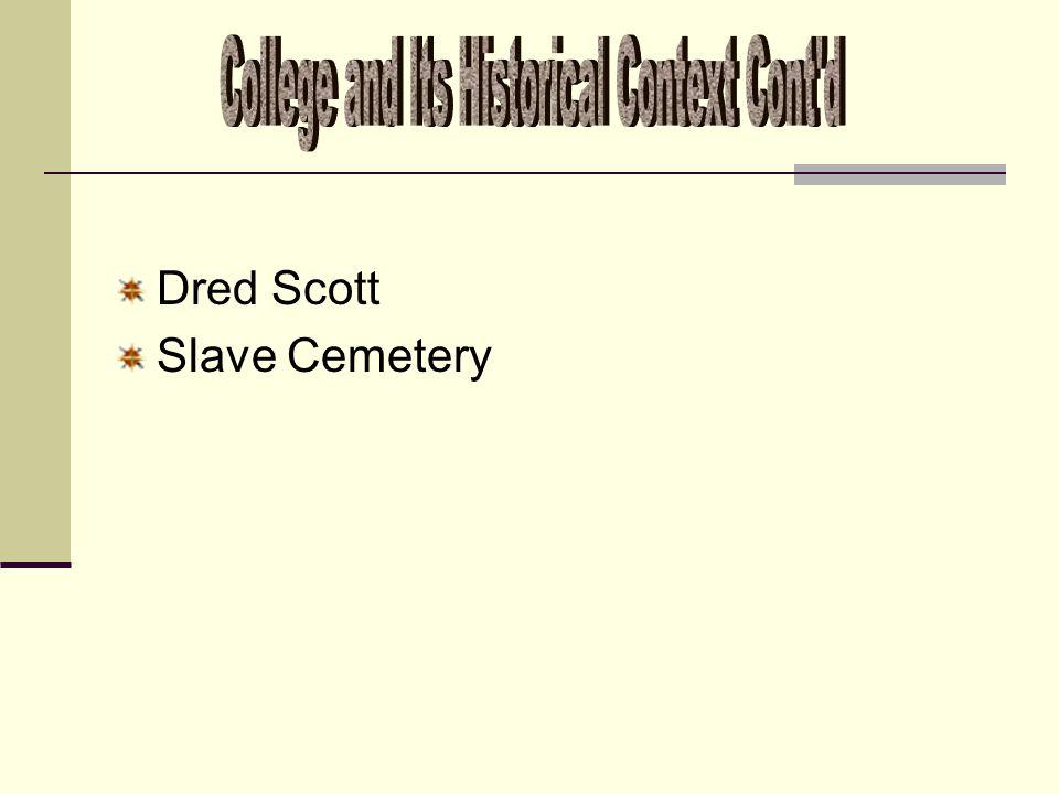 Dred Scott Slave Cemetery
