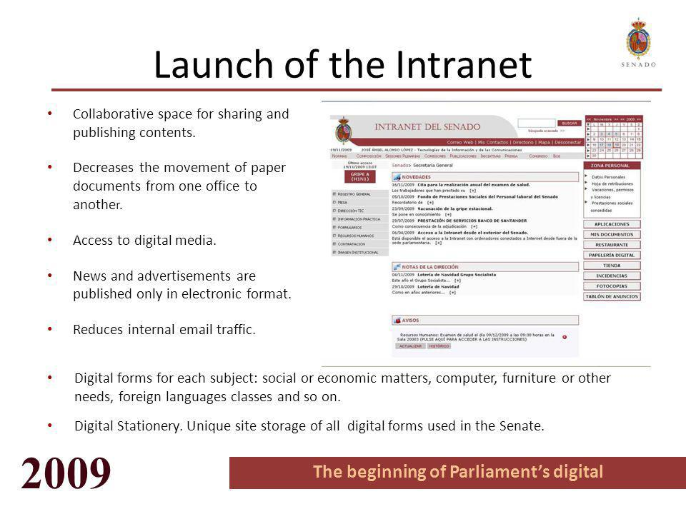 Internet System to Collect Senators' Data Updating data is also made with the same method in a simple way.