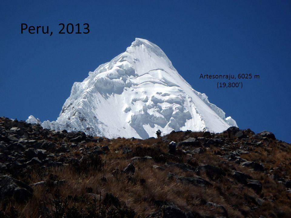 Peru, 2013 Artesonraju, 6025 m (19,800')