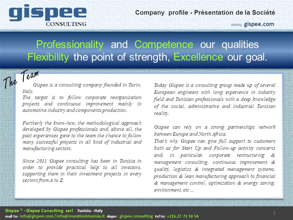 Gispee is a consulting company founded in Turin, Italy.