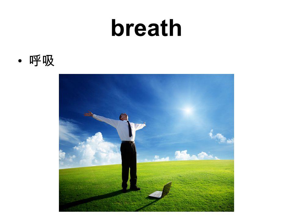breath 呼吸