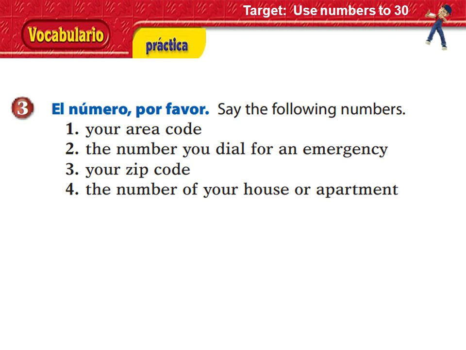 How to play Buzz We count in Spanish 1 – 39, one person says one number.