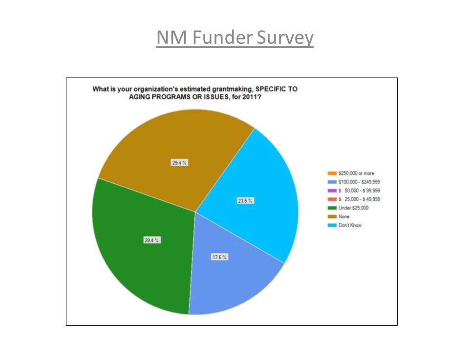 NM Funder Survey