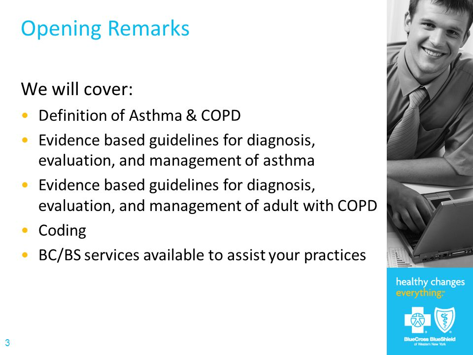 Medications for Asthma & COPD Pharmacy Formulary 34 Type of Medication Commercial/ Child Health Plus/ Healthy New York Medicaid/ Family Health Plus Medicare SABA ProAir HFA Proventil HFA ProAir HFA Ventolin HFA ProAir HFA Xopenex HFA LABA Foradil, Serevent Diskus Serevent DiskusArcapta, Foradil, Perforomist, Severent Diskus ICS Asmanex, Flovent Diskus/HFA, Pulmicort, QVAR Alvesco, Flovent Diskus HFA, Pulmicort Flexhaler, QVAR Alvesco, Asmanex, Flovent Diskus/HFA, QVAR LABA/ICS combos Advair, Symbicort Advair, Dulera, Symbicort Anticholinergics Spiriva, Atrovent Miscellaneous Combivent, montelukast, zafirlukast Combivent, Daliresp, montelukast, zafirlukast * Included medications are tier 1 (generics) and tier 2 (brands) for commercial/HNY/CHP.