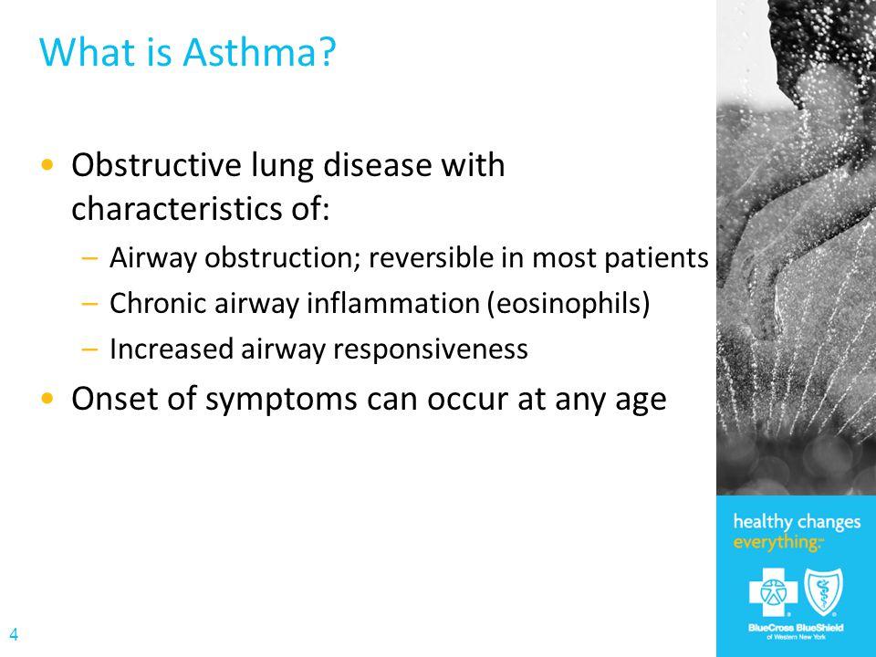 Asthma 34 million people in the U.S.