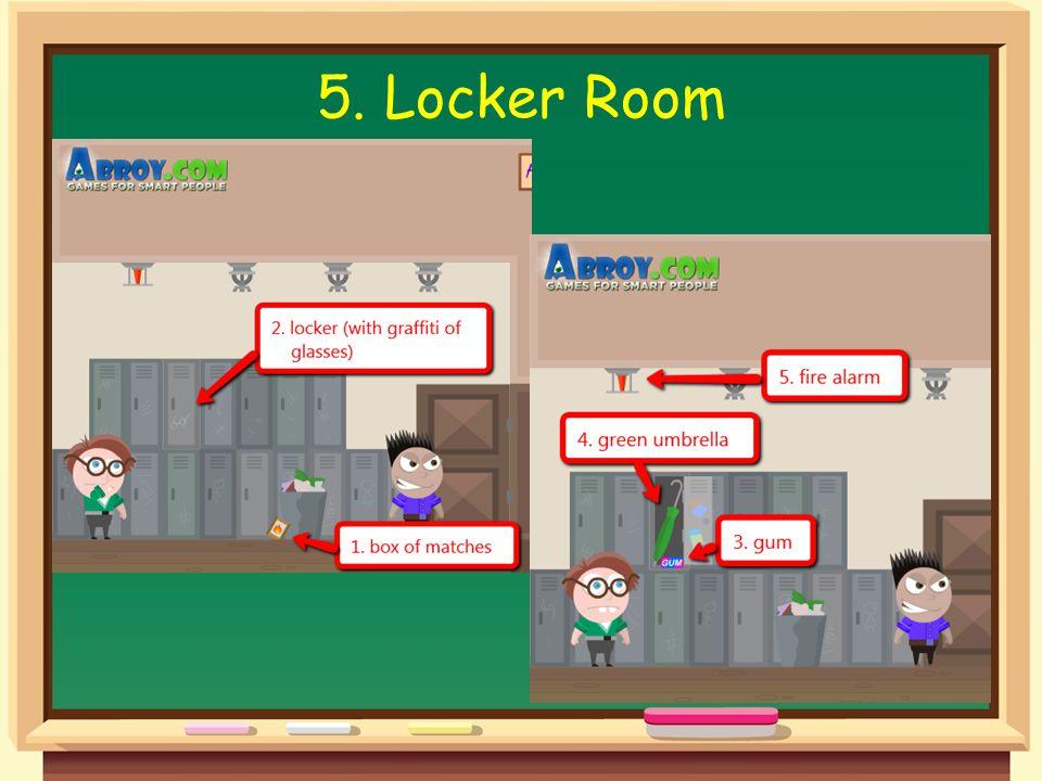 5. Locker Room