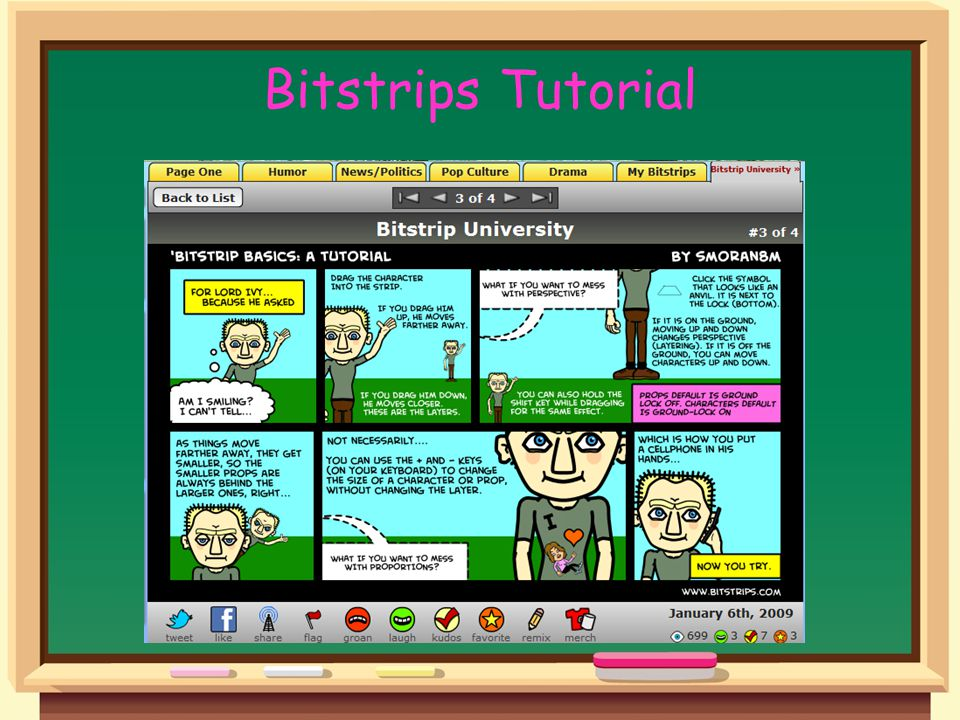 Bitstrips Tutorial