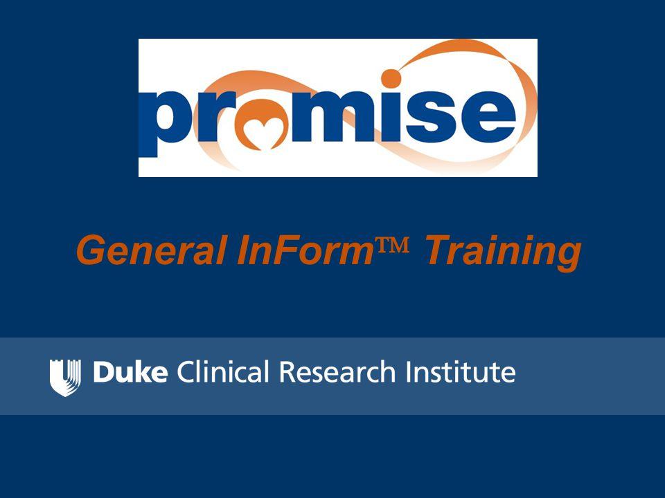 General InForm  Training